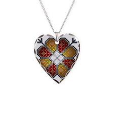 RedSun Necklace Heart Charm