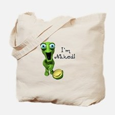 Funny Naked Turtle Tote Bag