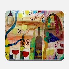 Wine Time Mousepad