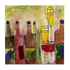 Tuscany Wine Tile Coaster