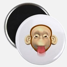 """Monkey Sticking Out Tongue 2.25"""" Magnet (100 pack)"""