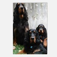 Gordon Setter Generations Postcards (Package of 8)