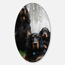 Gordon Setter Generations Painting Decal