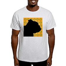 English Bulldog Profile T-Shirt