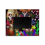 Day of the dead wedding Picture Frames