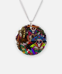 Day of the Dead Music art by Necklace