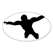 Freefall 1 Black Bumper Stickers