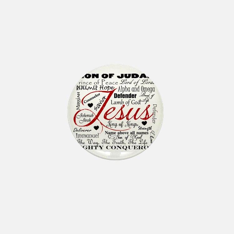 The Name of Jesus Mini Button