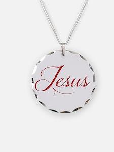 The Name of Jesus dark Necklace