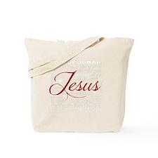 The Name of Jesus dark Tote Bag