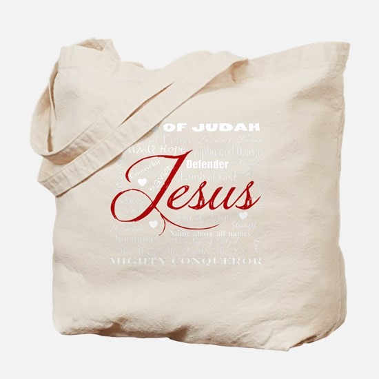 The Name of Jesus dark Tote Bag