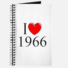 """""""I Love 1966"""" Journal"""