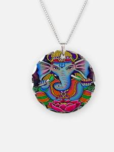 Ganesha Art by Julie Oakes Necklace