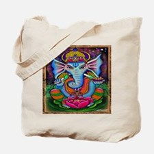 Ganesha Art by Julie Oakes Tote Bag