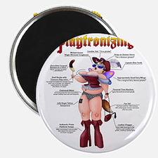 Playtronizing WomanB Magnet