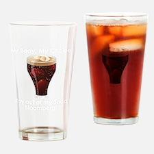 Soda dark Drinking Glass