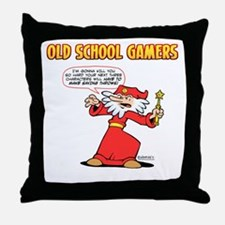 Marvin the Mage Throw Pillow