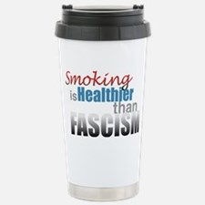 Smoking Fascism Travel Mug
