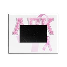 AEK initials, Pink Ribbon, Picture Frame