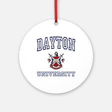 DAYTON University Ornament (Round)