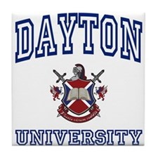 DAYTON University Tile Coaster
