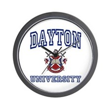 DAYTON University Wall Clock