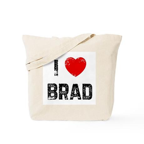 I * Brad Tote Bag