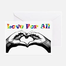 Love For All Greeting Card