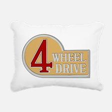 4WD logo Rectangular Canvas Pillow