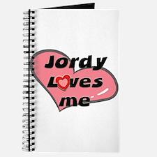 jordy loves me Journal