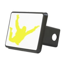 Freefall Sihouette 2 yello Hitch Cover