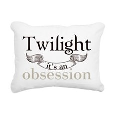 twilight obsession Rectangular Canvas Pillow