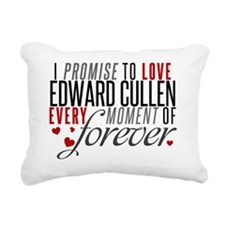 I Promise to Love Rectangular Canvas Pillow