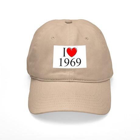 """I Love 1969"" Cap"