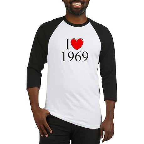 """I Love 1969"" Baseball Jersey"