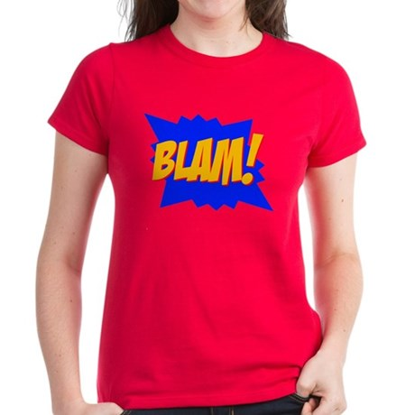 Blam! Women's Red T-Shirt