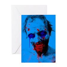 Blue Walker Greeting Card