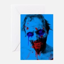 Blue Walker Greeting Card