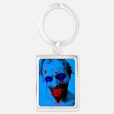 Blue Walker Portrait Keychain