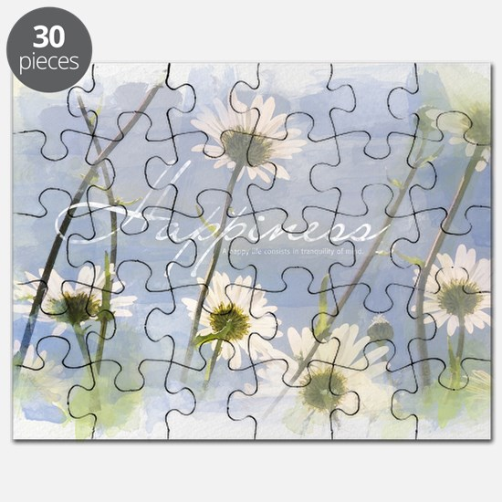 Watercolor Inspirational Poster: A Happy Li Puzzle