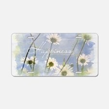 Watercolor Inspirational Po Aluminum License Plate