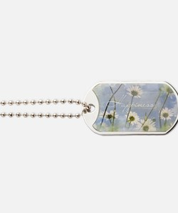 Watercolor Inspirational Poster: A Happy  Dog Tags