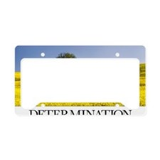 Inspirational Poster: You can License Plate Holder