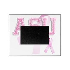 ASU initials, Pink Ribbon, Picture Frame