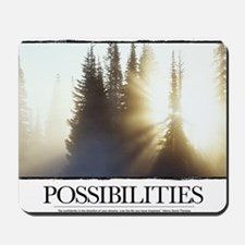 Inspirational Poster: The path of discov Mousepad