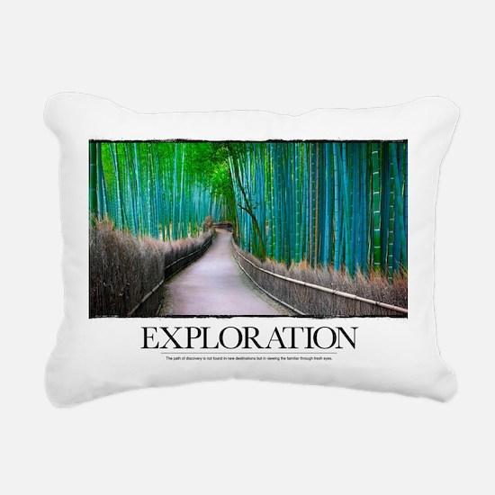 Inspirational Poster: Th Rectangular Canvas Pillow