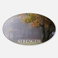 Inspirational Poster: Every great o Sticker (Oval)