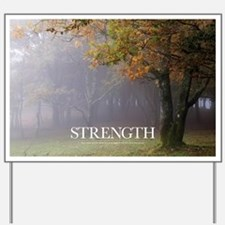 Inspirational Poster: Every great oak tr Yard Sign
