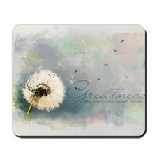 Inspirational Poster: All those who have Mousepad