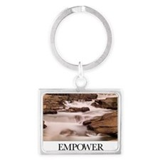 Inspirational Poster: Our great Landscape Keychain